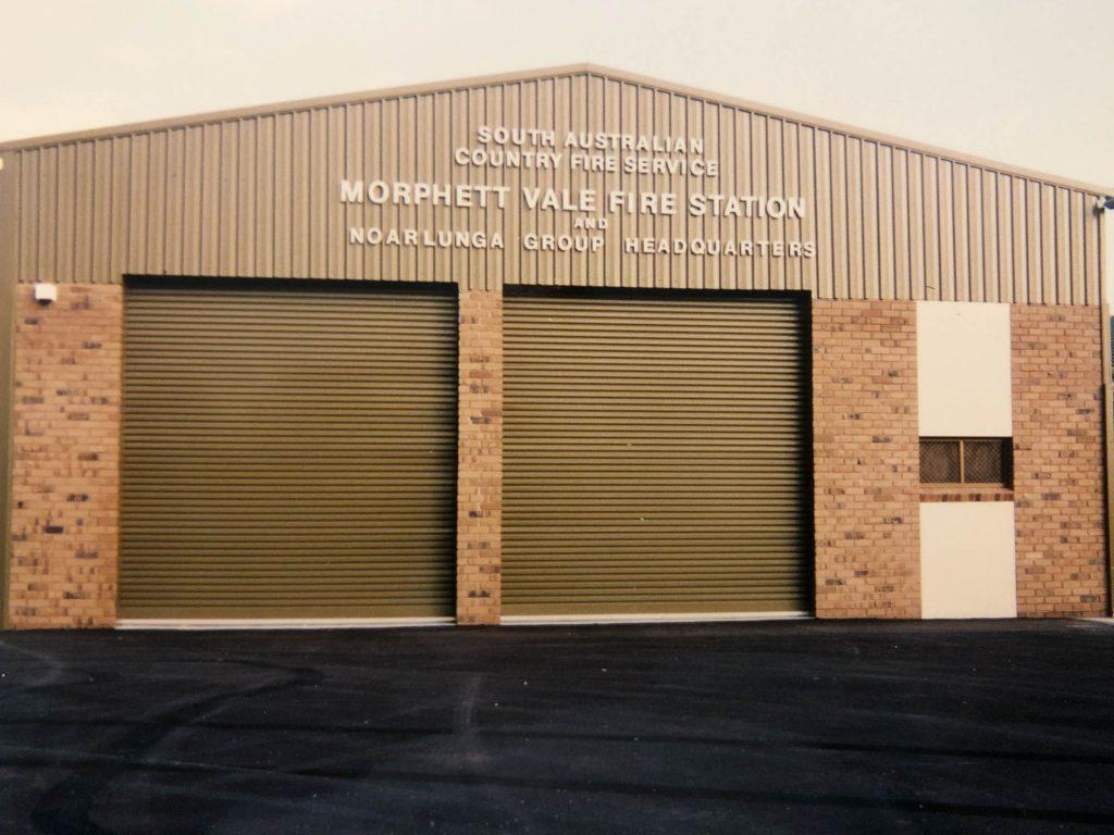 Morphett Vale CFS - Doctors road station, opened October 1992