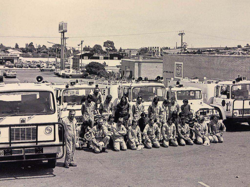 Morphett Vale CFS Crew - approximately 1980